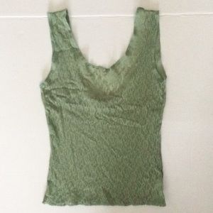 Vintage 90's Green Lace Top from Kokoon